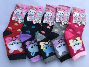 Носки махровые для девочек S (21-26 р.). «Корона» . Детские носки