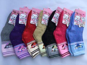 Носки махровые для девочек (26-31 р.). «Корона» . Детские носки