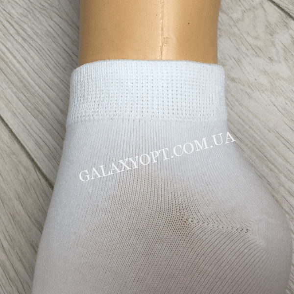 Женские белые носки ручной работы размер 37-41